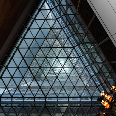 -Triangle of the Commerzbank Tower-