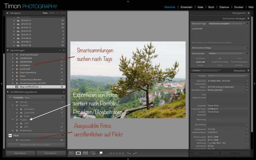 Foto Workflow mit Lightroom und einer NAS