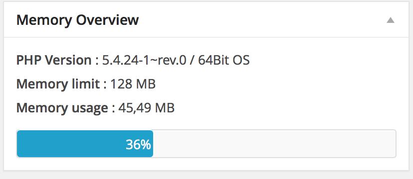 Nachher - Vorher 46 MB Arbeitsspeicherauslastung