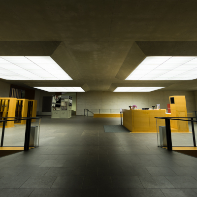 -Neues Museum Nürnberg - Eingangshalle [1603]-