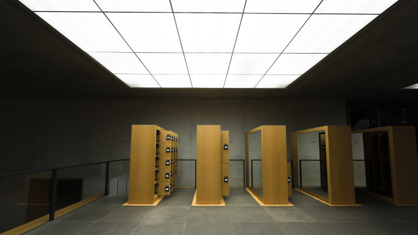 Neues Museum Nürnberg – Eingangsbereich